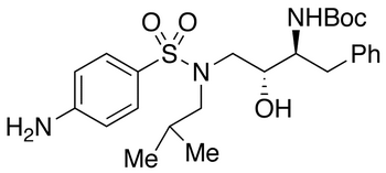 [(1S,2R)-1-Benzyl-2-hydroxy-3-[isobutyl-[(4-aminophenyl)sulfonyl]amino] propyl]-carbamic Acid tert-Butyl Ester
