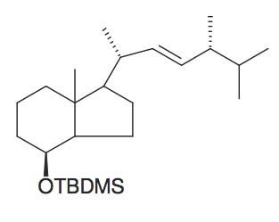 (S)-tert-Butyl-dimethyl-[7a-methyl-1- (1R,4R,5-trimethyl-hex-2-enyl)-octahydro-inden-4-yloxy]-silane