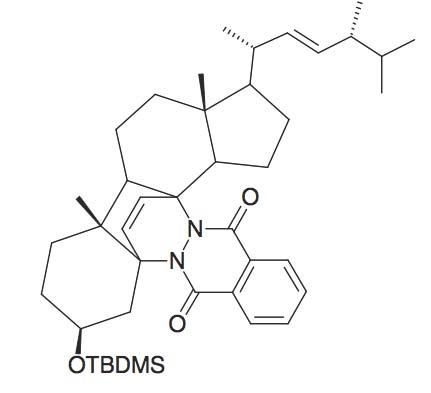 Vitmain D2 precursor Diels-Alder adduct
