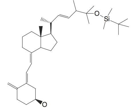 3-(2-(1R-[5-(tert-Butyl-dimethyl-silanyloxy)-1R,4,5-trimethyl-hex-2-enyl]-7R-methyl-octahydro-inden-4-ylidene)-ethylidene)-4-methylene-cyclohexan-1S-ol