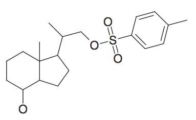 Toluene-4-sulfonic acid 2-(4-hydroxy-7a-methyl-octahydro-inden-1-yl)-propyl ester