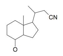 3-(4-Hydroxy-7a-methyl-octahydro-inden-1-yl)-butyronitrile