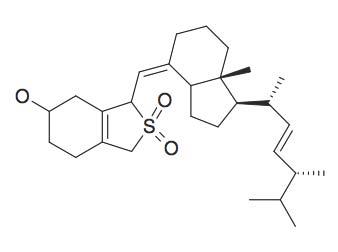 3-[7a-Methyl-1-(1,4,5-trimethyl-hex-2-enyl)-octahydro-inden-4-ylidenemethyl]-2,2-dioxo-2,3,4,5,6,7-hexahydro-1H-2-benzo[c]thiophen-5-ol