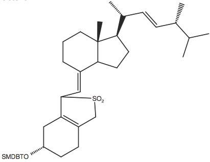 tert-Butyl-dimethyl-(3-[7R-methyl-1R-(1R,4R,5-trimethyl-hex-2-enyl)-octahydro-inden-4-ylidenemethyl]-2,2-dioxo-2,3,4,5,6,7-hexahydro-1H-2l6-benzo[c]thiophen-5S-yloxy)-silane