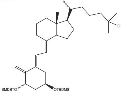 6-(4-(2-[3S,5R-Bis-(tert-butyl-dimethyl-silanyloxy)-2-methylene-cyclohexylidene]-ethylidene)-7R-methyl-octahydro-inden-R-yl)-(R)-2-methyl-heptan-2-ol
