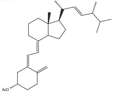 (S)-Acetic acid 4-methylene-3-(2-[7R-methyl-1R-(1R,4R,5-trimethyl-hex-2-enyl)-octahydro-inden-4-ylidene]-ethylidene)-cyclohexyl ester