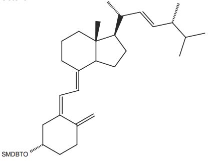 (S)-tert-Butyl-dimethyl-(4-methylene-3-(2-[7R-methyl-1R-(1R,4R,5-trimethyl-hex-2-enyl)-octahydro-inden-4-ylidene]-ethylidene)-cyclohexyloxy)-silane