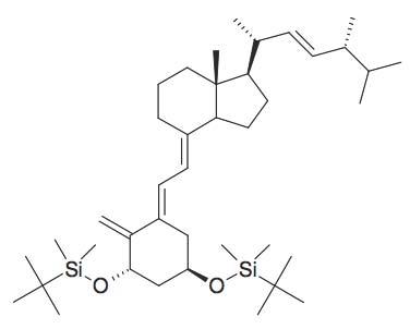 4-(2-[3,5-Bis-(tert-butyl-dimethyl-silanyloxy)-2-methylene-cyclohexylidene]-ethylidene)-7a-methyl-1-(1,4,5-trimethyl-hex-2-enyl)-octahydro-indene