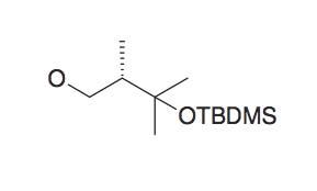 3-(tert-Butyl-dimethyl-silanyloxy)-2S,3-dimethyl-butan-1-ol