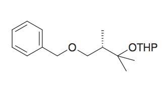 2-(3-Benzyloxy-1,1,2S-trimethyl-propoxy)-tetrahydro-pyran
