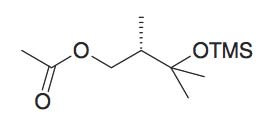 Acetic acid 2S,3-dimethyl-3-trimethylsilanyloxy-butyl ester