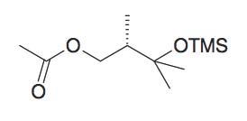 Acetic acid 2S,3-dimethyl-3-trimethylsilanyloxy-butyl ester