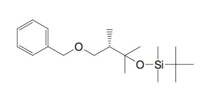 (3-Benzyloxy-1,1,2S-trimethyl-propoxy)-tert-butyl-dimethyl-silane