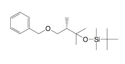 (3-Benzyloxy-1,1,2S-trimethyl-propoxy)-tert-butyl-dimethyl-silane