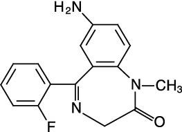 7-Aminoflunitrazepam (100 ug/mL in Acetonitrile)