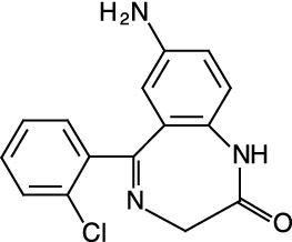 7-Aminoclonazepam (1.0 mg/mL in Acetonitrile)