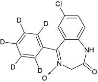 Demoxepam-D5 (100 ug/mL in Acetonitrile)