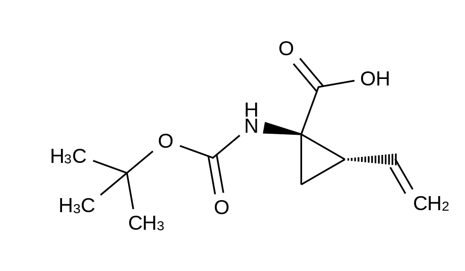 (1R,2S)-1-tert-Butoxycarbonylamino-2-vinylcyclopropanecarboxylic acid