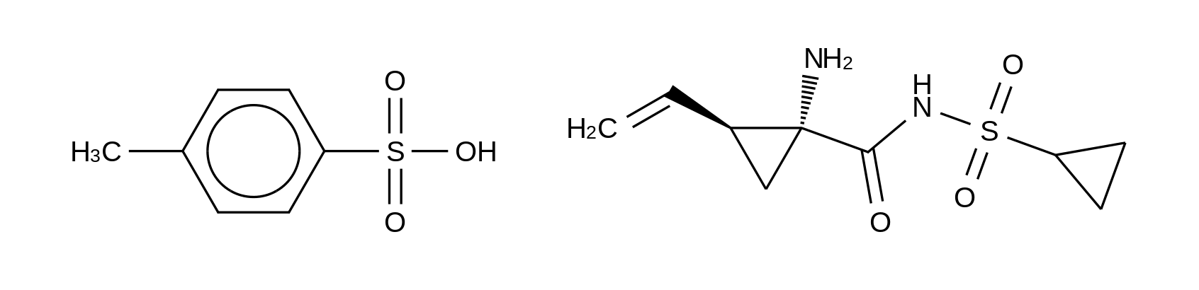 (1R,2S)-1-Amino-N-(cyclopropylsulfonyl)-2-ethenylcyclopropanecarboxamide 4-methylbenzenesulfonate (1:1)