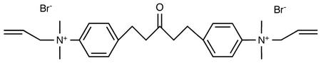 1,5-Bis(4-Allyldimethylammoniumphenyl)pentan-3-one Dibromide