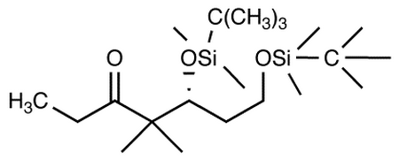 (5S)-5,7-Bis-[[tert-butyldimethylsilyl)oxy]]-4,4-dimethylheptan-3-one