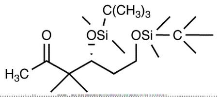 (4S)-4,6-Bis-[[tert-butyldimethylsilyl)oxy]]-3,3-dimethylhexan-2-one