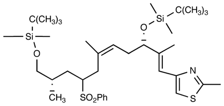 4-[(1E,3S,5Z,8R/S,10S)-3,11-Bis-[[tert-butyl(dimethyl)silyl]oxy]-2,6,10-trimethyl-8-(phenylsulfonyl)undeca-1,5-dienyl]-2-methyl-1,3-thiazole