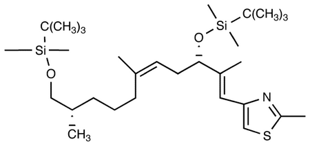 4-[(1E,3S,5Z,8R/S,10S)-3,11-Bis-[[tert-butyl(dimethyl)silyl]oxy]-2,6,10-trimethyl-undeca-1,5-dienyl]-2-methyl-1,3-thiazole