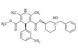 (3R,4'S)-Benidipine HCl
