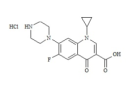 Ciprofloxacin hydrochloride