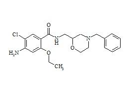 4-Amino-N-((4-benzyl-2-morpholinyl)-methyl)-5-chloro-2-ethoxybenzamide