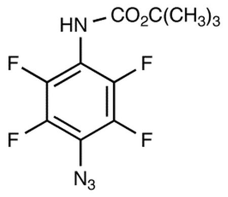 4-(N-tert-Butoxycarbonylamino)tetrafluorophenylazide