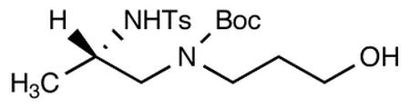 (S)-3-[N-(tert-Butoxycarbonyl)-N-[2-(N-p-toluenesulfonyl)aminopropyl]amino-1-propanol