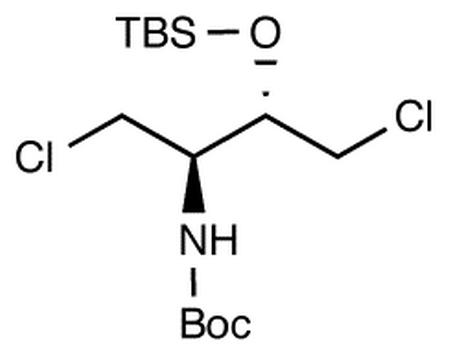 2S-t-Butyldimethylsilyloxy-3R-(t-Boc)-amino-1,4-dichlorobutane