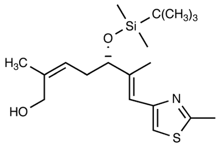 (-)-(2Z,5S,6E)-5-[[tert-Butyl(dimethyl)silyl]oxy]-2,6-dimethyl-7-(2-methyl-1,3-thiazol-4-yl)hepta-2,6-dien-1-ol