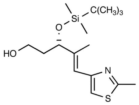 (-)-(3S,4E)-3-[[tert-Butyl(dimethyl)silyl]oxy]-4-methyl-5-(2-methyl-1,3-thiazol-4-yl)pent-4-en-1-ol