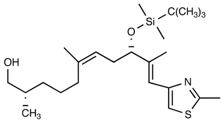 (+)-(2S,6Z,9S,10E)-9-[[tert-Butyl(dimethyl)silyl]oxy]-2,6,10-trimethyl-11-(2-methyl-1,3-thiazol-4-yl)-undeca-6,10-dien-1-ol
