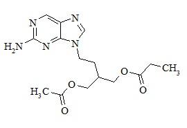 Propionyl famciclovir