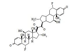 Fluocortolone Dimer Impurity