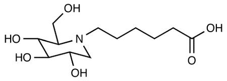 N-5-Carboxypentyl-1-deoxynojirimycin
