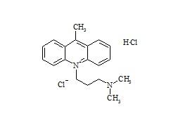 Imipramine Impurity HCl (9-Methyl-10-Dimethylaminopropylacridinium Chloride HCl)