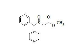 Modafinil Related Compound (2-((Diphenylmethyl)sulfinyl) Acetic Acid Methyl Ester)