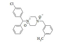 Meclizine N-Oxide (N, N'-dioxide)