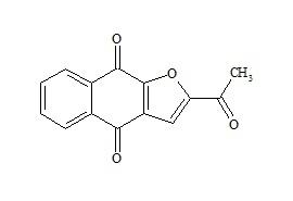 2-Acetylfuro-1,4-naphthoquinone