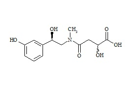 Phenylephrine Related Compound (2R,S-Hydroxy-4[[(2R)-2-hydroxy-2-(3-hydroxyphenyl)ethyl]methylamino]-4-oxo-butanoic Acid