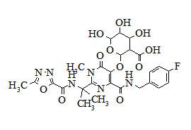 Raltegravir glucuronide