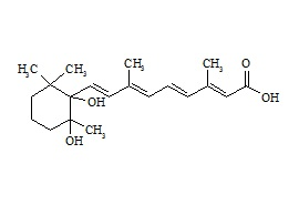5,6-Dihydro-5,6-dihydroxy retinoic acid