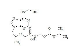 Tenofovir Disoproxil Fumarate Impurity(N6-CH2OH-POC PMPA)