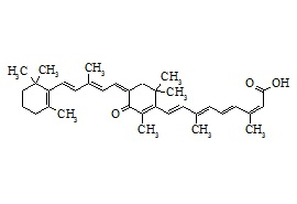 4-Oxo 13-cis-retinoic acid dimer