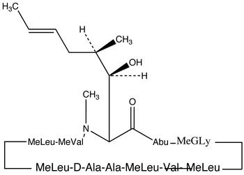 Cyclosporin C